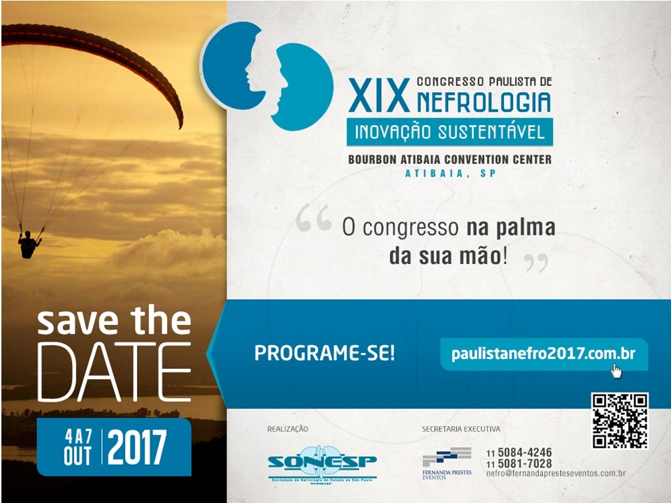 10-05-2017 - Congresso Paulista de Nefrologia - CPN2017 - SAVE THE DATE (002)