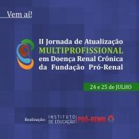 II Jornada de Atualização Multiprofissional em Doença Renal Crônica