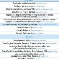 IV Jornada Integrada de Qualidade em Hemodiálise e II Ciclo de Palestras sobre Gestão