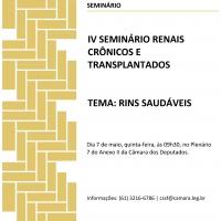 Presidente da ABCDT participa do IV Seminário Renais Crônicos e Transplantados