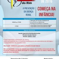 AGENDA DIA MUNDIAL DO RIM 2016