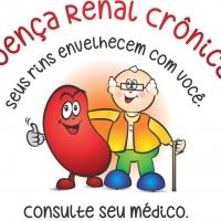 """Campanha Dia Mundial do Rim 2014 """"Doença Renal Crônica – Seus Rins Envelhecem com você. Consulte seu médico"""""""