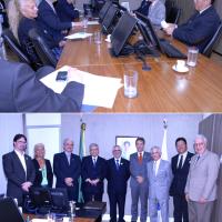 Assessor Político da Diretoria da ABCDT participa de reunião com Ministro da Saúde