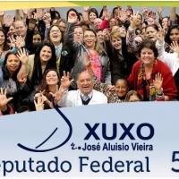 Para Deputado Federal: Dr. Xuxo